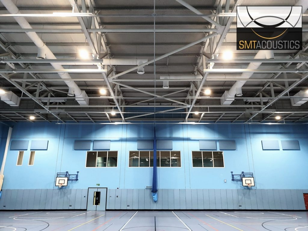 Acoustic Treatment for Sports Halls at British School Muscat
